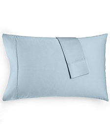 AQ Textiles Bergen Standard Pillowcase, 1000 Thread Count 100% Certified Egyptian Cotton