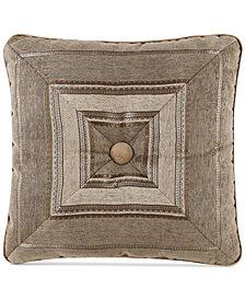 "J Queen New York Bradshaw 18"" Square Decorative Pillow"