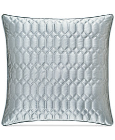"J Queen New York Satinique Quilted 20"" Square Decorative Pillow"