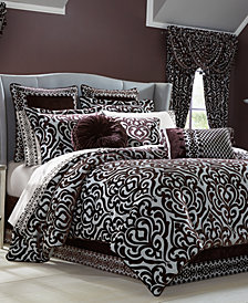 J Queen New York Sicily Plum Bedding Collection