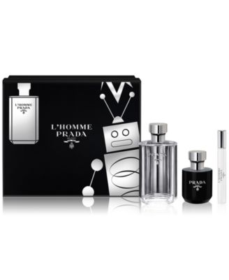 Prada Men's 3-Pc. L'Homme Prada Gift Set - Shop All Brands ...
