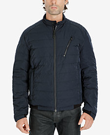 Michael Kors Men's Quilted Bomber Jacket