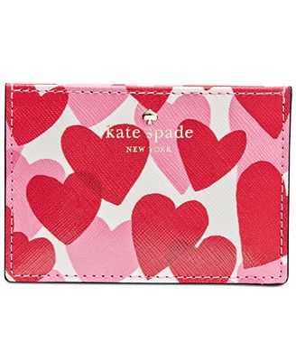 kate spade new york Yours Truly Print Card Holder