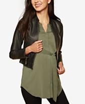 0552562f0ad42 Jackets Maternity Clothes For The Stylish Mom - Macy's