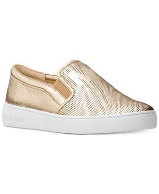 Michael Collection Kors Métallique Glisser Sur Chaussures De Sport LHHYqJ7deG