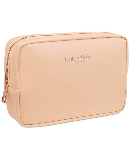 Calvin Klein Receive a Complimentary Pouch with any large spray purchase from the Calvin Klein Women's fragrance collection