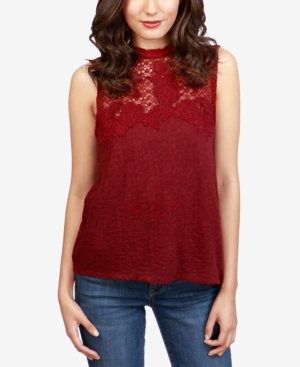 Lucky Brand Cotton Embroidered...
