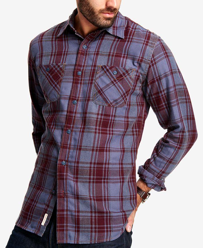 Weatherproof Vintage - Men's Plaid Flannel Shirt