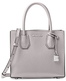 MICHAEL Michael Kors Mercer Pebble Leather Crossbody