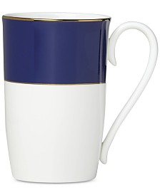 Lenox Pleated Colors Navy  Mug