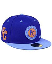 official photos c2067 f726d New Era Kansas City Royals X Wilson Circle Patch 59FIFTY Fitted Cap
