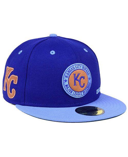 35d44ed92e23b ... New Era Kansas City Royals X Wilson Circle Patch 59FIFTY Fitted Cap ...