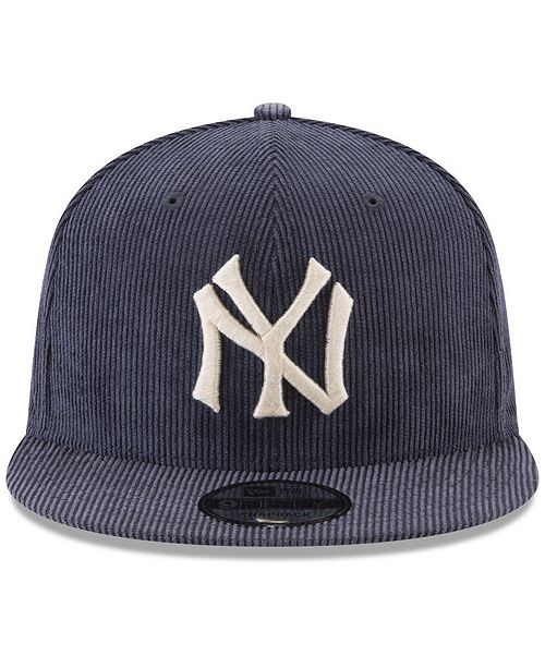 95566bb2 ... New Era New York Yankees All Cooperstown Corduroy 9FIFTY Snapback Cap  ...