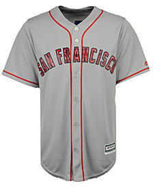 Majestic Men's San Francisco Giants Stars & Stripes Cool Base Jersey