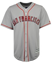 12d7fc2d2 Majestic Men s San Francisco Giants Stars   Stripes Cool Base Jersey