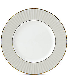 Lenox Pleated Colors Gray Salad Plate