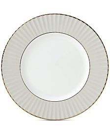 Lenox Pleated Colors Gray Salad Plate