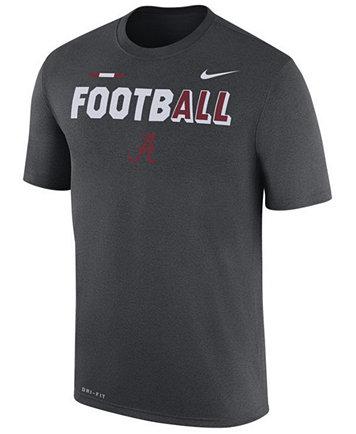 Nike Men's Alabama Crimson Tide Legend Football T-Shirt - Sports Fan Shop  By Lids - Men - Macy's