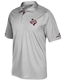 adidas Men's Texas A&M Aggies Sideline Climachill Polo