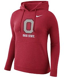 Nike Women's Ohio State Buckeyes Club Hooded Sweatshirt