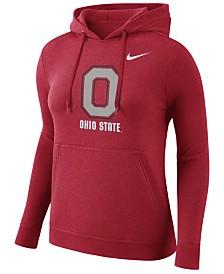Nike Women's Ohio State Buckeyes Club Hooded Sweatshirt