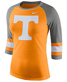 Nike Women's Tennessee Volunteers Team Stripe Logo Raglan T-Shirt