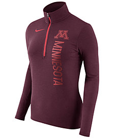 Nike Women's Minnesota Golden Gophers Stadium Element Quarter-Zip Pullover