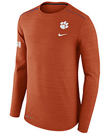 Nike Men's Clemson Tigers Dri-Fit Breathe Long Sleeve T-Shirt