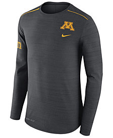 Nike Men's Minnesota Golden Gophers Dri-Fit Breathe Long Sleeve T-Shirt