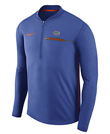 Nike Men's Florida Gators Coaches Quarter-Zip Pullover