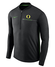 Nike Men's Oregon Ducks Coaches Quarter-Zip Pullover