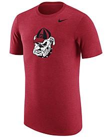 Men's Georgia Bulldogs Vault Logo Tri-Blend T-Shirt