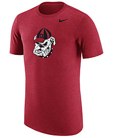 Nike Men's Georgia Bulldogs Vault Logo Tri-Blend T-Shirt