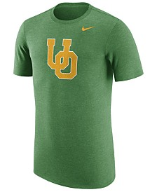 Nike Men's Oregon Ducks Vault Logo Tri-Blend T-Shirt