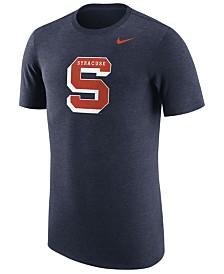 Nike Men's Syracuse Orange Vault Logo Tri-Blend T-Shirt