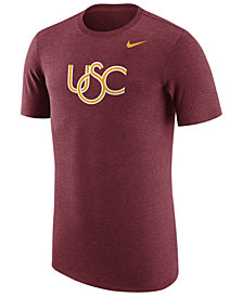 Nike Men's USC Trojans Vault Logo Tri-Blend T-Shirt