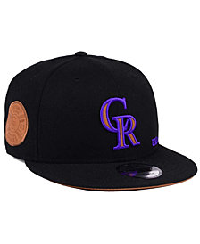 New Era Colorado Rockies X Wilson Side Hit 9FIFTY Snapback Cap