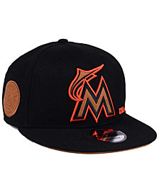 New Era Miami Marlins X Wilson Side Hit 9FIFTY Snapback Cap