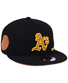 New Era Oakland Athletics X Wilson Side Hit 9FIFTY Snapback Cap