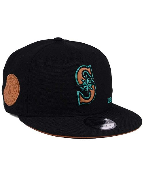 fe8b33179b6 ... New Era Seattle Mariners X Wilson Side Hit 9FIFTY Snapback Cap ...