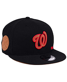 New Era Washington Nationals X Wilson Side Hit 9FIFTY Snapback Cap