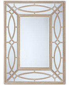 Madison Park Bancroft Natural Wood Frame Mirror
