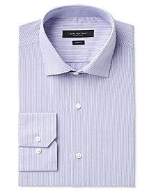 Marc New York Men's Slim-Fit Motion-Ease Collar Wrinkle-Free Stripe Dress Shirt