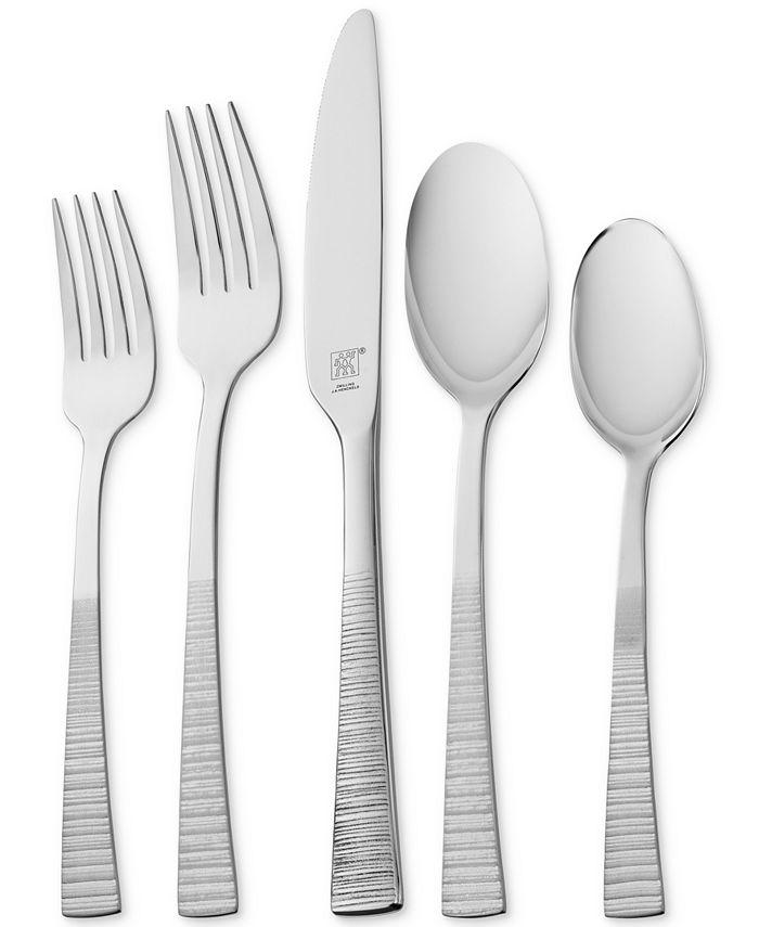 J.A. Henckels - Kingwood 42-Pc. 18/10 Stainless Steel Flatware Set