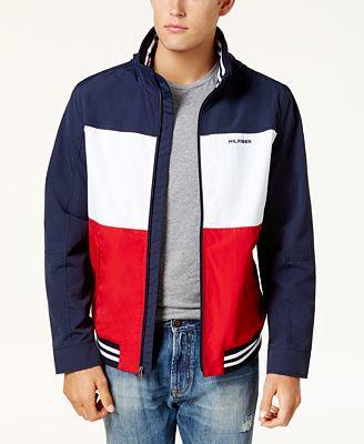 Tommy Hilfiger Men S Flag Regatta Jacket Created For Macy S Coats