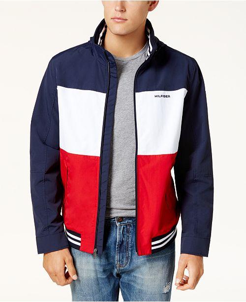60d54cbb8 Tommy Hilfiger Men s Flag Regatta Jacket