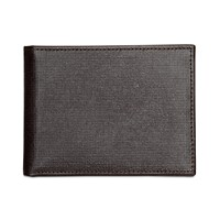 Perry Ellis Mens Portfolio Saffiano RFID Bifold Wallet