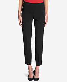 DKNY Straight-Leg Pants, Created for Macy's