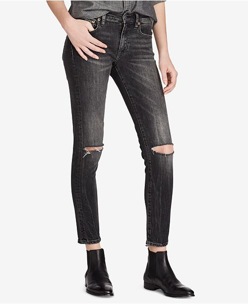 b1e0b8c11f Polo Ralph Lauren Tompkins Skinny Crop Jeans & Reviews - Jeans ...