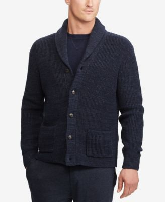 mens white ralph lauren shirt ralph lauren shawl collar sweater
